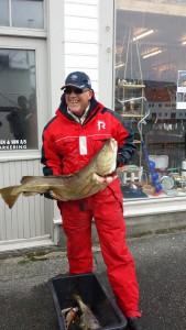 Steinar sandvik størst fisk 2015